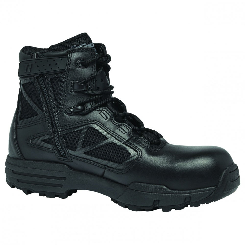 Tactical Research TR916Z CT Chrome 6in - Black - Mens