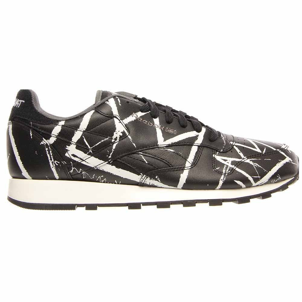 Reebok Classic Leather Lux Black - Mens  - Size 12