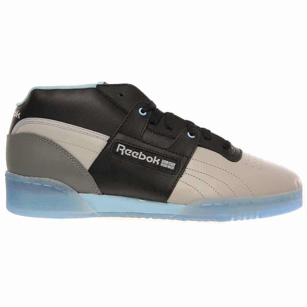 Reebok Workout Mid R12 Grey - Mens  - Size 13
