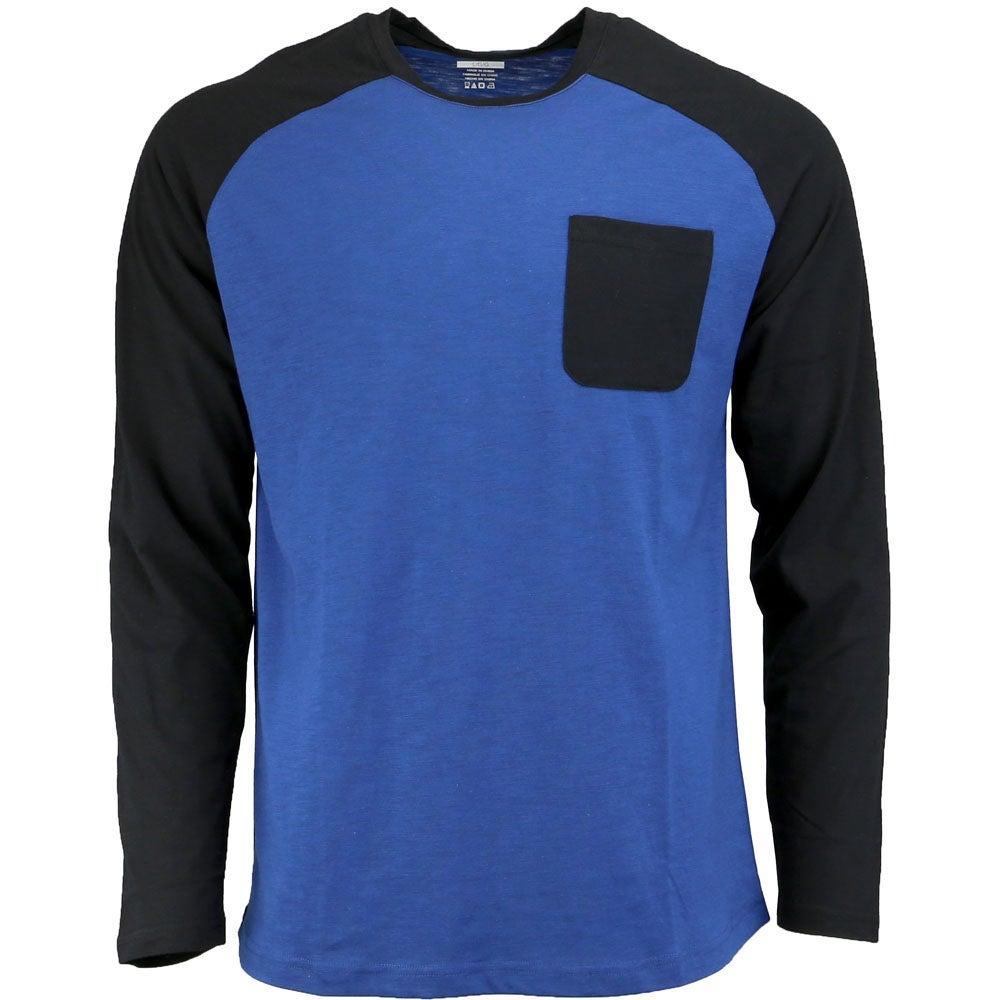 c65c0088c92e 2(X)IST Activewear Baseball Pocket Crew - Blue - Mens | eBay