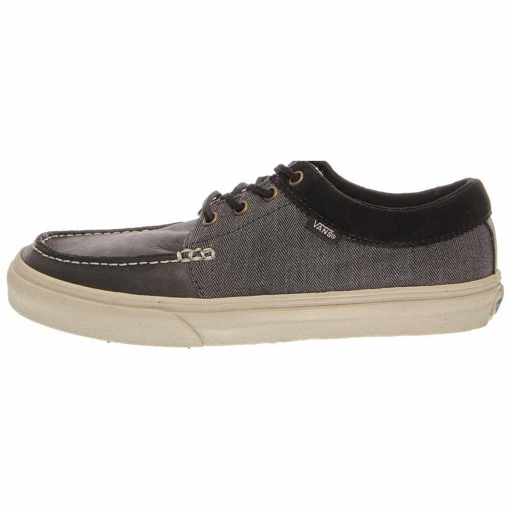 ad5e0a0fbefb11 Details about Vans 106 Moc CA Skate Shoes - Black - Mens