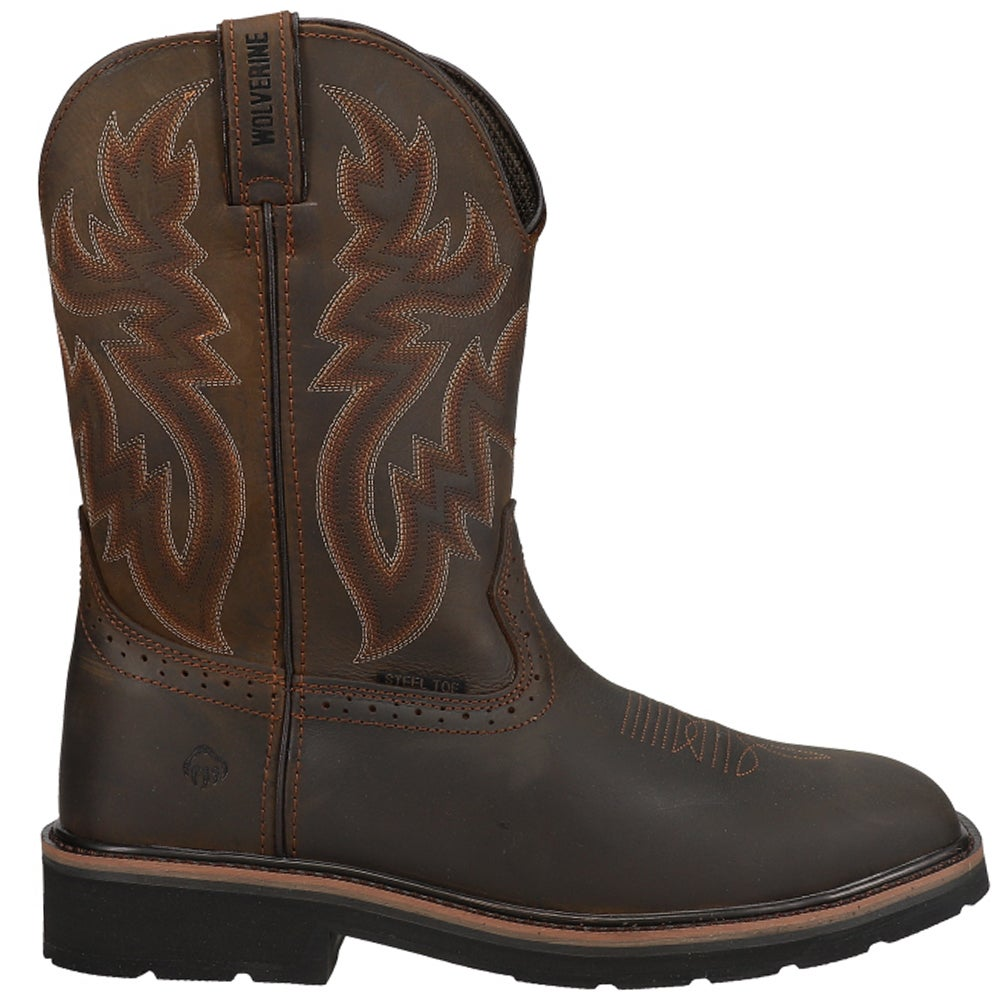 Wolverine Rancher Steel Toe