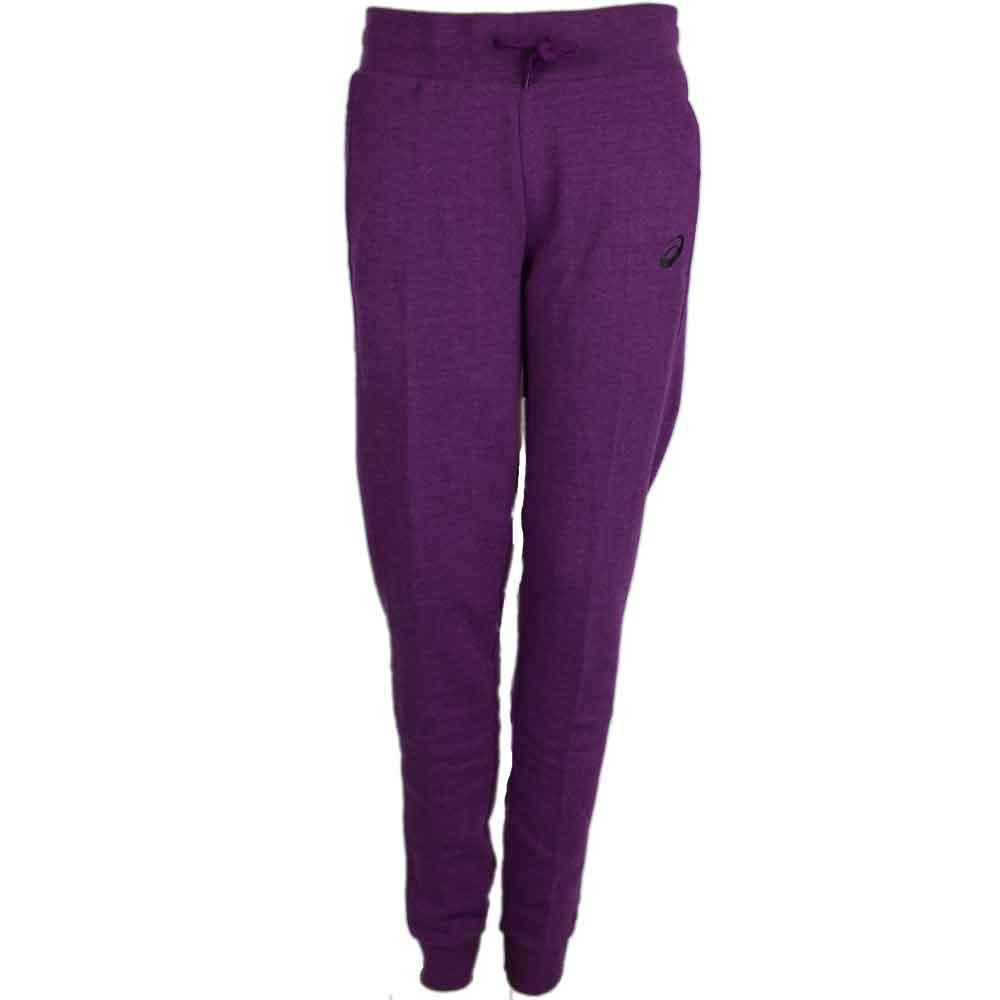 ASICS FLEECE PANT Purple - Womens  - Size Xl