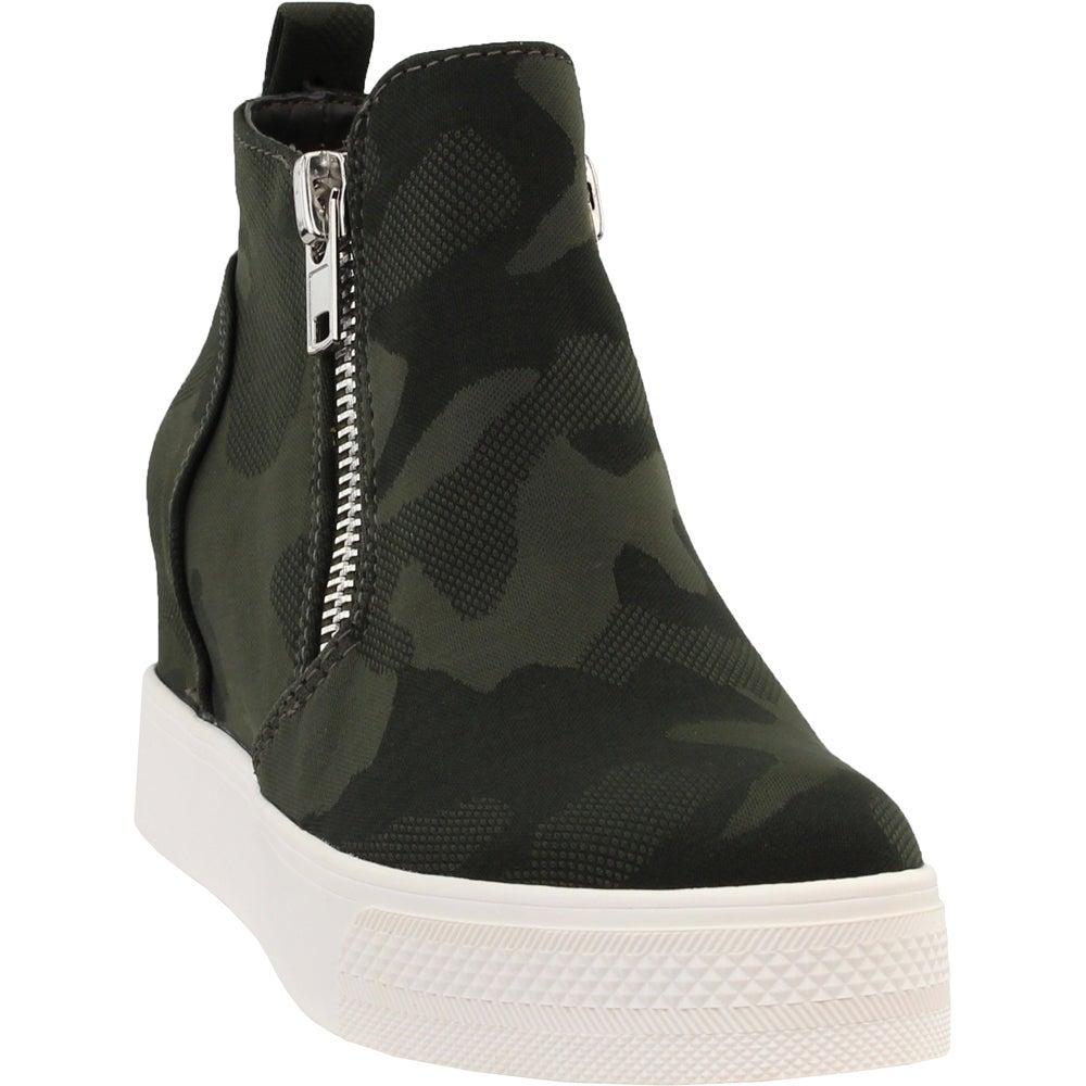 Steve Madden Wedgie Camo Wedge Sneakers