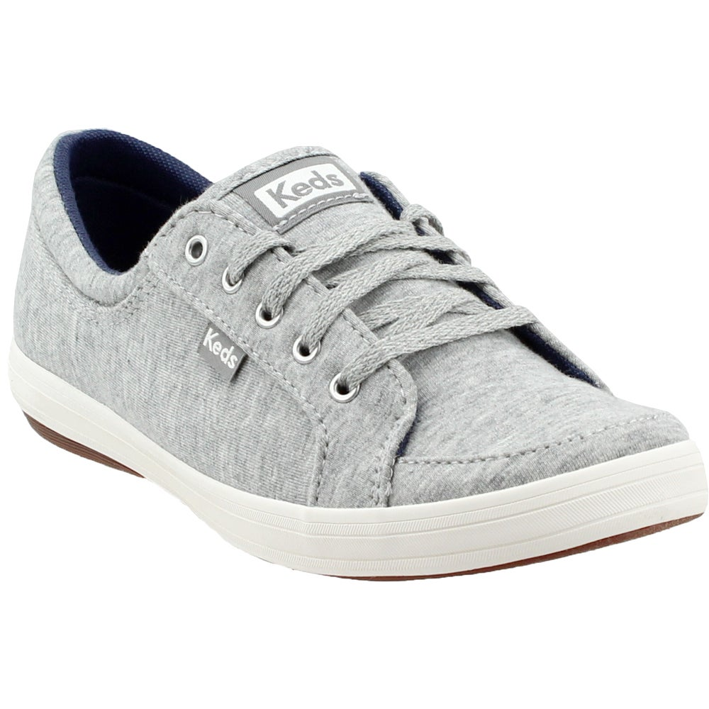 Keds Vollie II Jersey Grey Womens Lace