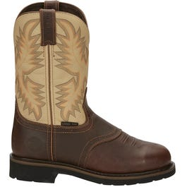 Waxy Brown Steel Toe