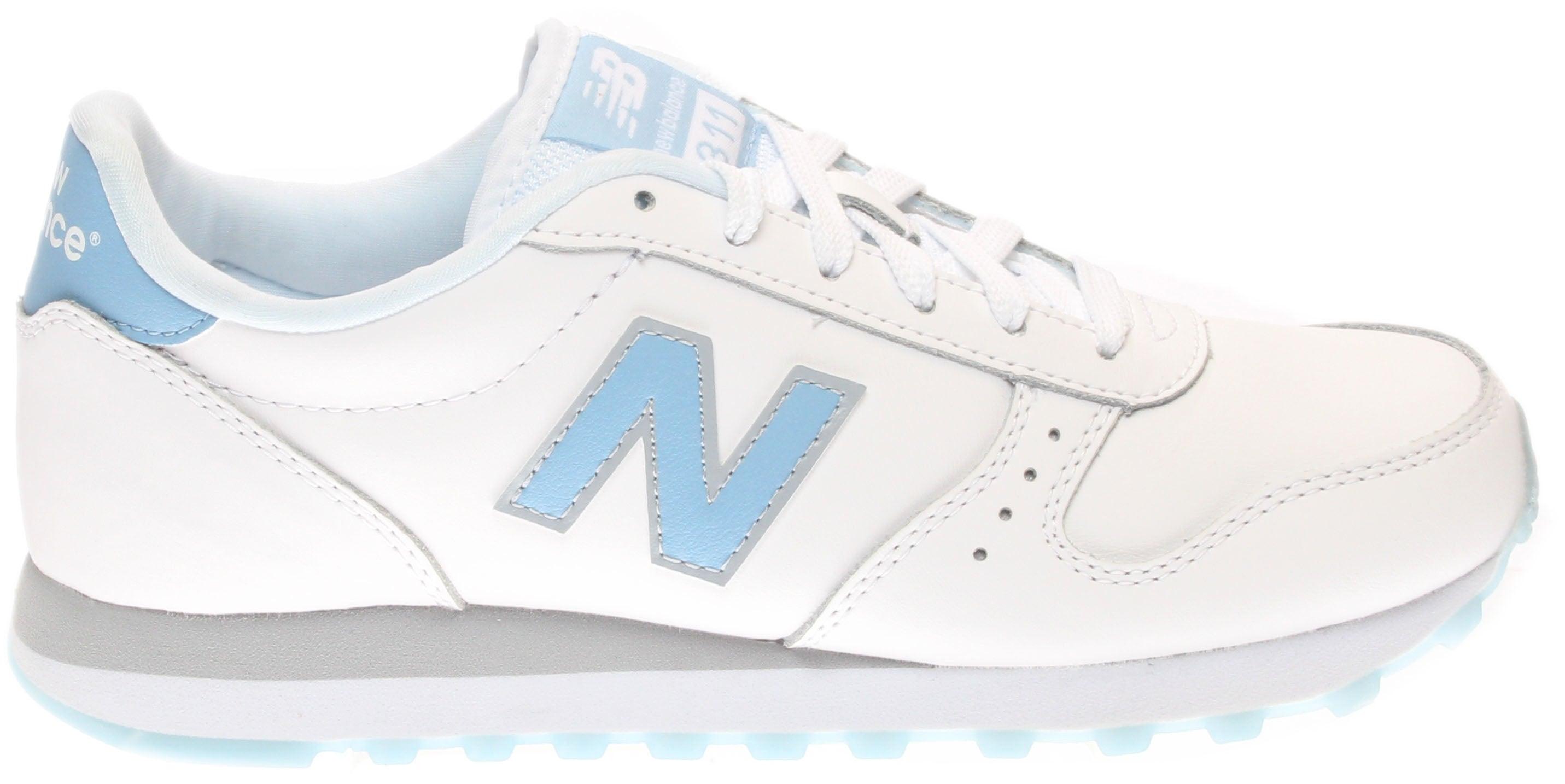 New Balance 311 Modern Classics Blue;White - Womens  - Size 8