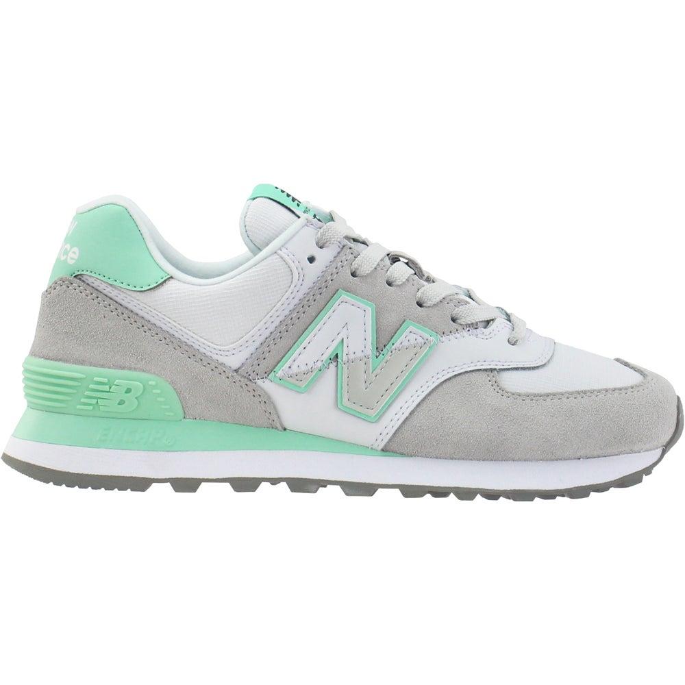 Hacia abajo Estrecho azafata  New Balance 574 Split Sail Lace Up Sneakers Green, Grey Womens Lace Up  Sneakers