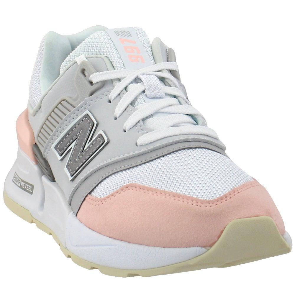 New Balance 997 Sport Pink, White