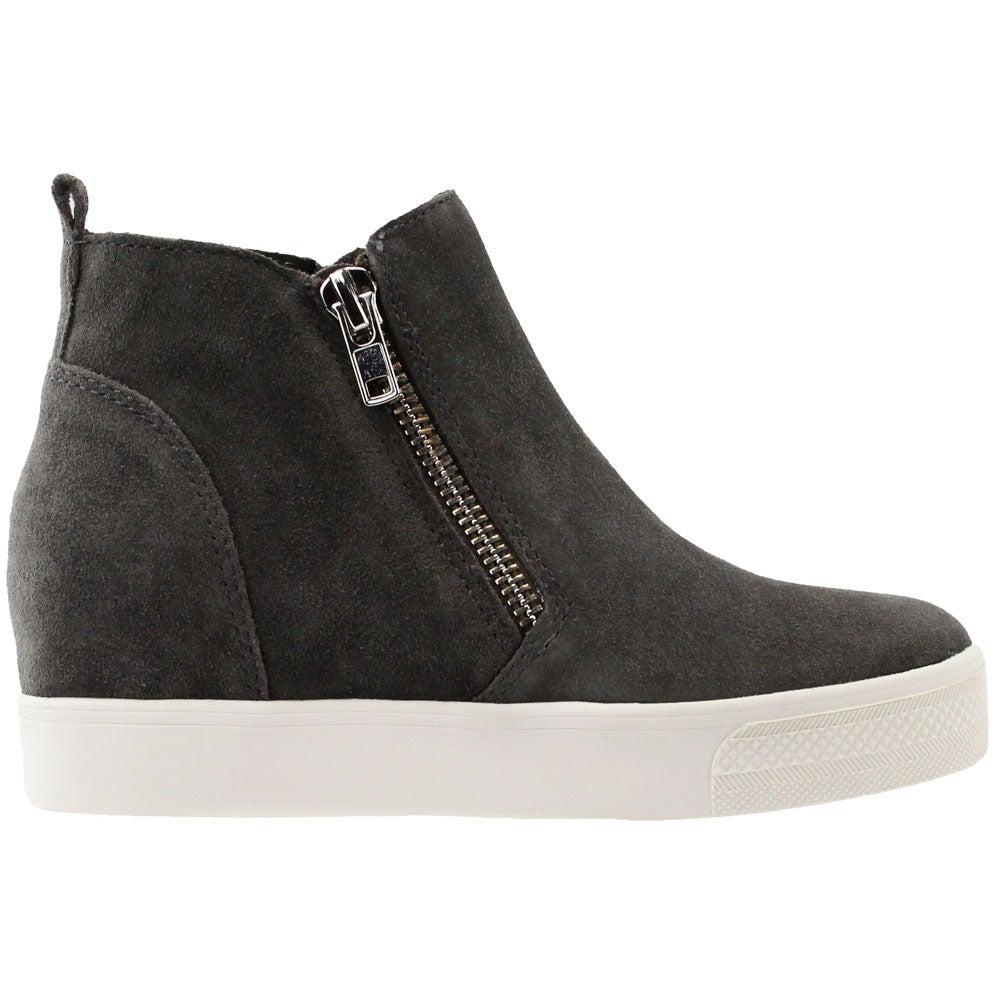 Steve Madden Wedgie Wedge Sneakers Grey