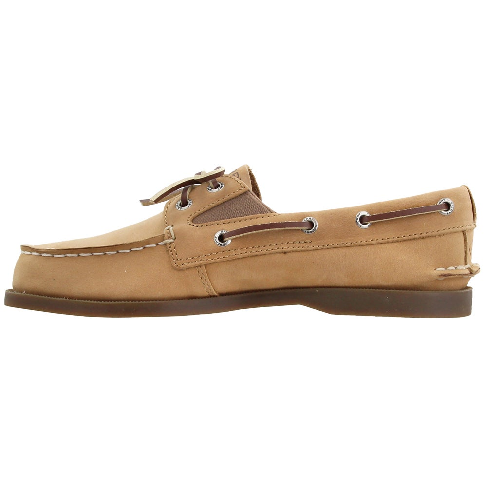Details about  /Sperry Top-Sider Kids YB50671 Classic Gore Boat Slip On Shoe Brown Loafer Sizes