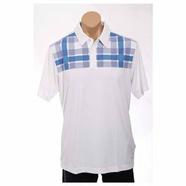 Climacool Chest Plaid Polo