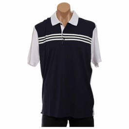 Golf ClimaCool 3-Stripes Colorblock Polo