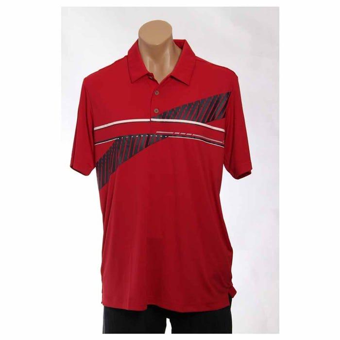 Golf Adizero Stripe Polo
