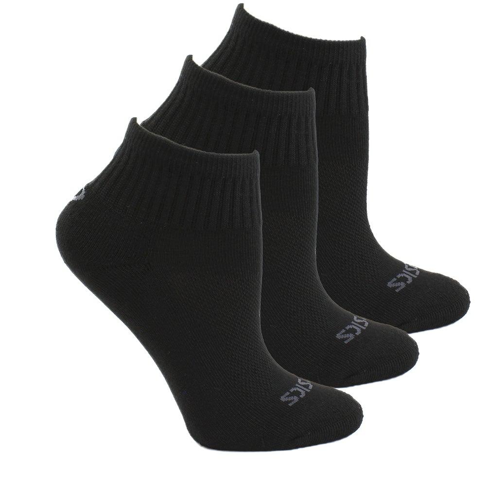 ASICS Cushion Quarter 3-Pack Socks Unisex