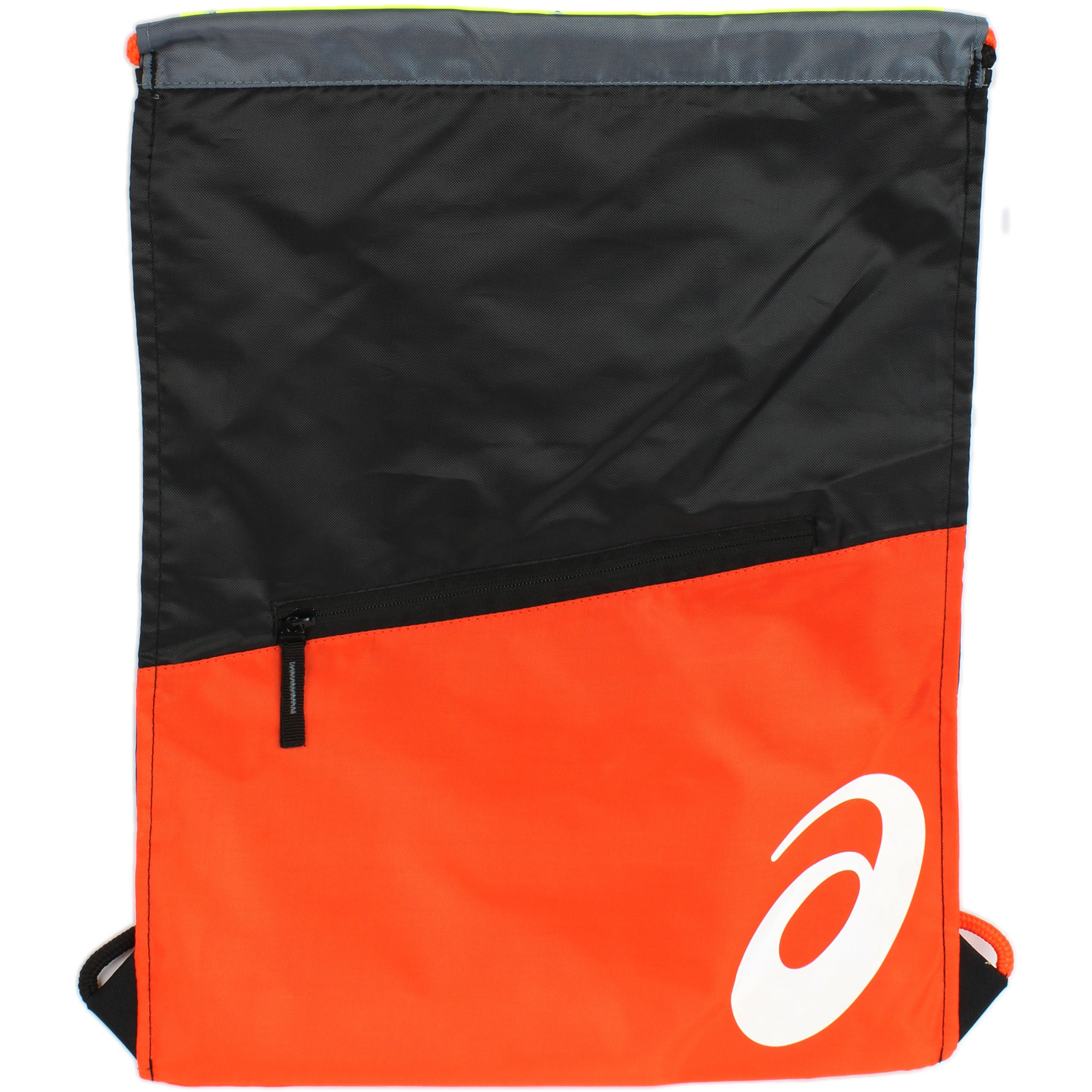 1aca3159ea90 ASICS TM Cinch II Bag Black Orange - Mens 889436665874