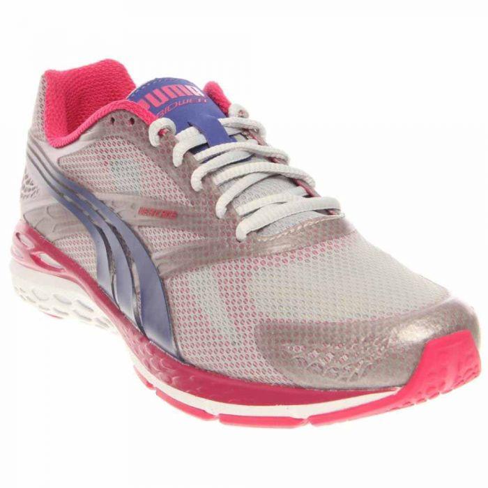 Puma BioWeb Speed Women's Running Shoes - Grey - Womens