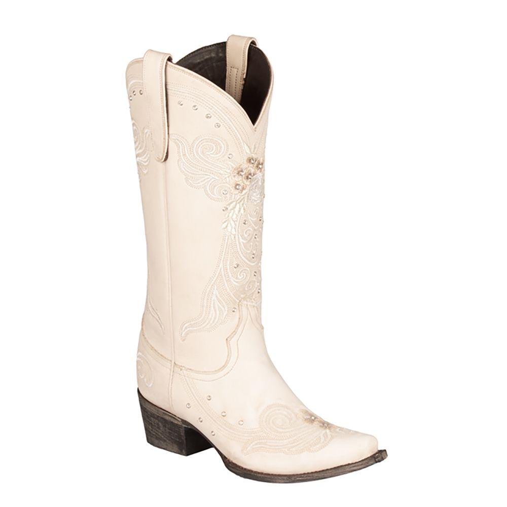 Lane Western Wedding Boots