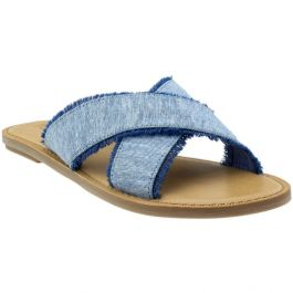 TOMS Viv Chambray Sandals