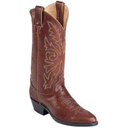 Justin Boots Chestnut Marbled Deerlite Western
