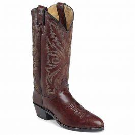 Justin Boots Dark Brown Marbled Deerlite