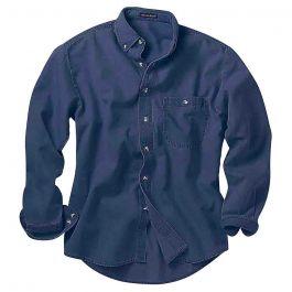 Rivers End Long Sleeve Denim & Twill Shirt