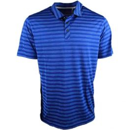 Puma ESS Mixed Stripe Polo Crest