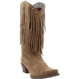 Crush by Durango Women's Fringe Western Boot