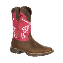 Lady Rebel by Durango Crossed Guns Western Boot