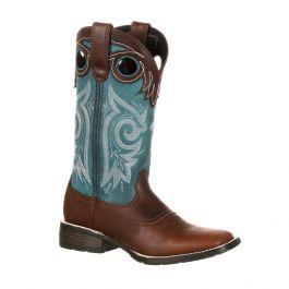 Durango Mustang Women's Pull-On Western Saddle Boot