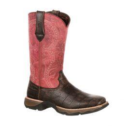 Lady Rebel by Durango Women's Gator Embossed Western Boot