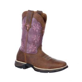 Lady Rebel by Durango Women's Cross Stitch Western Boot