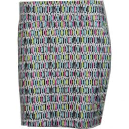 Page & Tuttle Abstract Oval Print Skort