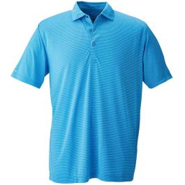 Page & Tuttle Two Color Feedstripe Polo