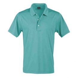 Page & Tuttle Solid Jersey Short Sleeve Polo