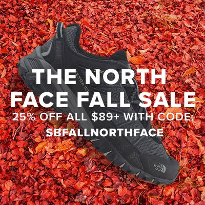 THE NORTH FACE FALL SALE | SAVE 25% OFF ALL $85+ WITH CODE : SBFALLNORTHFACE