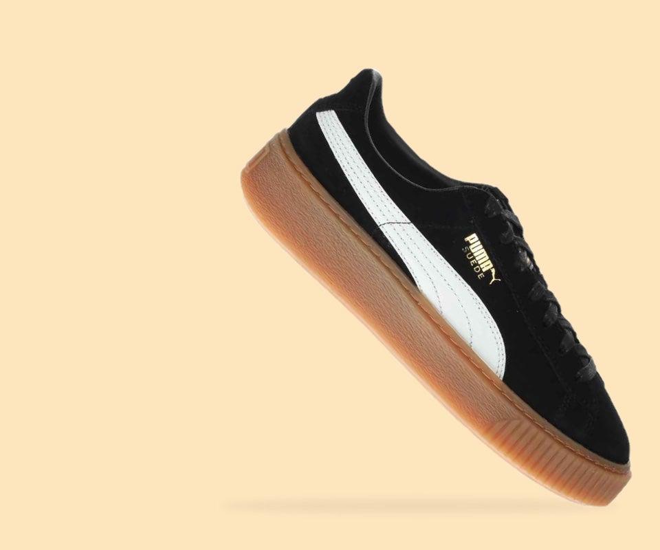 Shop Puma Varsity Fashion Sneakers Metallic Suede Free